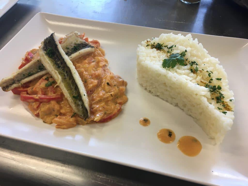 Filet-de-vive-et-son-riz-blanc Mr.Goodfish